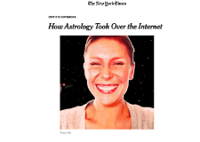The New York Times – How Astrology Took Over the Internet by Amanda Hess (01/01/18)