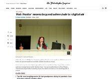 The Philadelphia Inquirer – 'Hair Healer' Moves Beyond Salon Chair to Digital Air by Kevin Riordan (06/02/20)