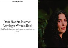 The New York Times – Your Favorite Internet Astrologer Wrote a Book by Jazmine Hughes (01/04/20)